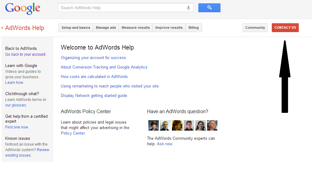 How do I get access to my google analytics?